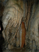 linville caverns in north carolina